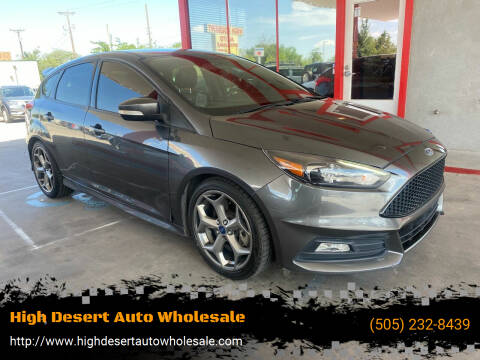 2016 Ford Focus for sale at High Desert Auto Wholesale in Albuquerque NM
