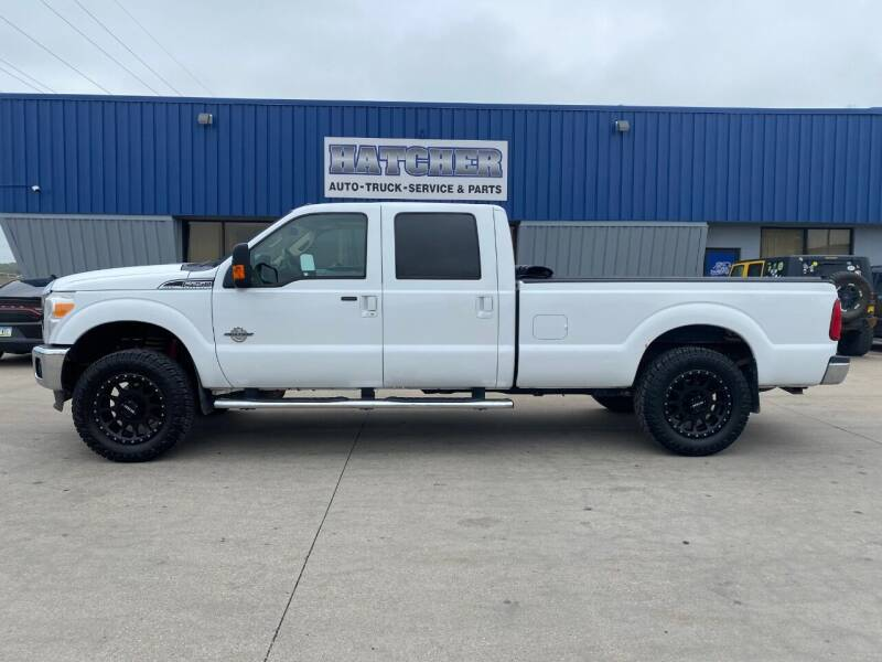 2011 Ford F-250 Super Duty for sale at HATCHER MOBILE SERVICES & SALES in Omaha NE