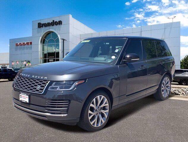 2018 Land Rover Range Rover for sale in Littleton, CO