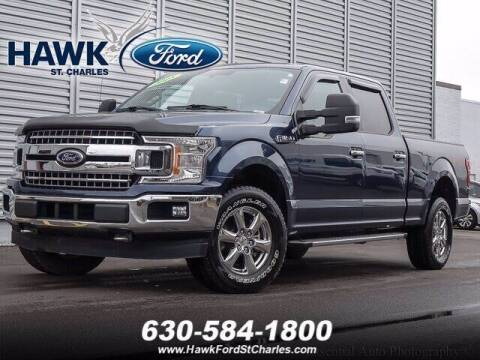 2018 Ford F-150 for sale at Hawk Ford of St. Charles in St Charles IL