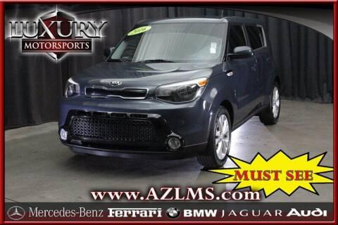 2016 Kia Soul for sale at Luxury Motorsports in Phoenix AZ
