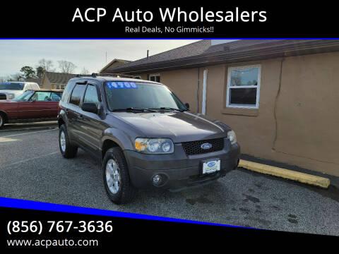 2006 Ford Escape for sale at ACP Auto Wholesalers in Berlin NJ