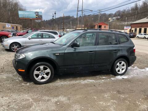 2007 BMW X3 for sale at Compact Cars of Pittsburgh in Pittsburgh PA