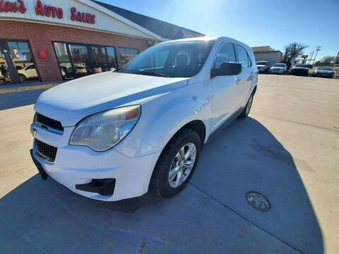 2013 Chevrolet Equinox for sale at Eden's Auto Sales in Valley Center KS