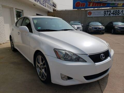 2008 Lexus IS 250 for sale at Best Royal Car Sales in Dallas TX