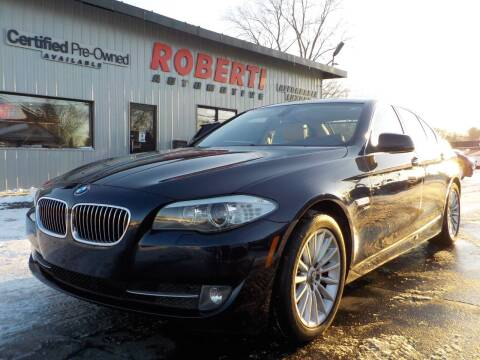 2012 BMW 5 Series for sale at Roberti Automotive in Kingston NY