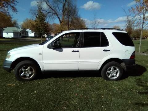1999 Mercedes-Benz ML for sale at Southtown Auto Sales in Albert Lea MN