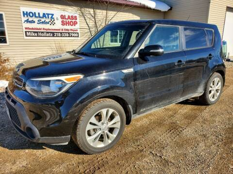 2014 Kia Soul for sale at Hollatz Auto Sales in Parkers Prairie MN