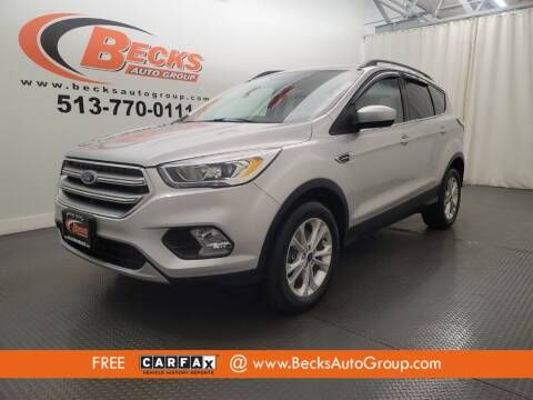 2017 Ford Escape for sale at Becks Auto Group in Mason OH