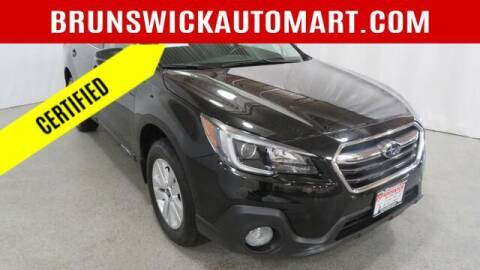 2018 Subaru Outback for sale at Brunswick Auto Mart in Brunswick OH