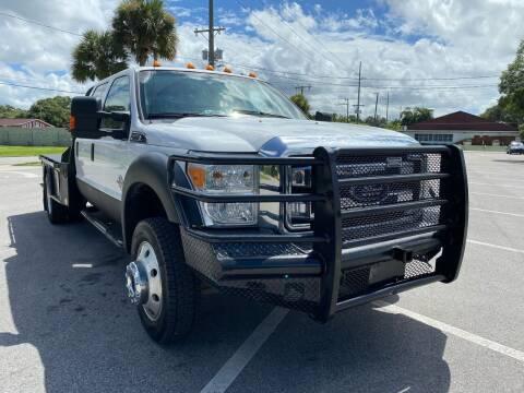 2012 Ford F-550 Super Duty for sale at Consumer Auto Credit in Tampa FL