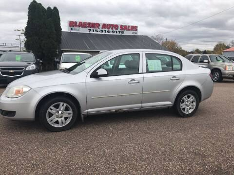 2005 Chevrolet Cobalt for sale at BLAESER AUTO LLC in Chippewa Falls WI