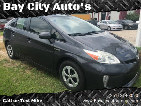 2013 Toyota Prius for sale at Bay City Auto's in Mobile AL