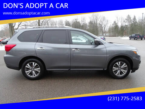2019 Nissan Pathfinder for sale at DON'S ADOPT A CAR in Cadillac MI