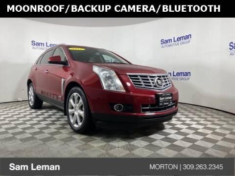 2015 Cadillac SRX for sale at Sam Leman CDJRF Morton in Morton IL