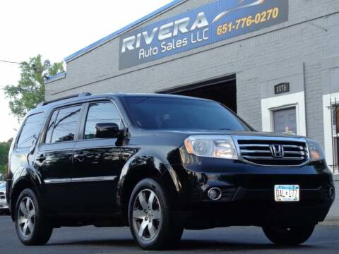 2012 Honda Pilot for sale at Rivera Auto Sales LLC in Saint Paul MN
