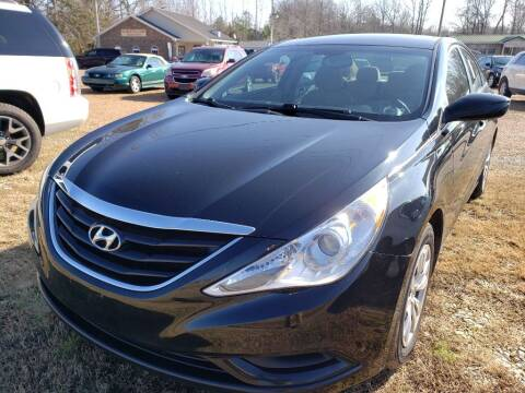 2012 Hyundai Sonata for sale at Scarletts Cars in Camden TN