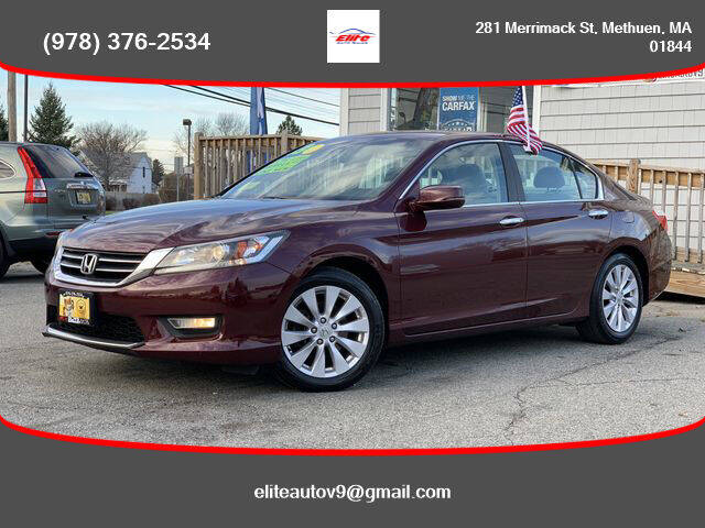 2013 Honda Accord for sale at ELITE AUTO SALES, INC in Methuen MA