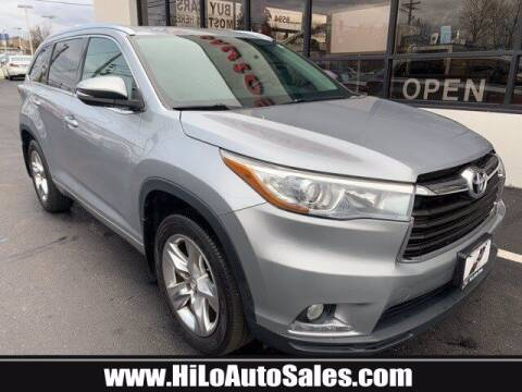 2014 Toyota Highlander for sale at Hi-Lo Auto Sales in Frederick MD