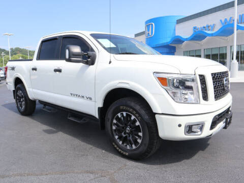 2019 Nissan Titan for sale at RUSTY WALLACE HONDA in Knoxville TN