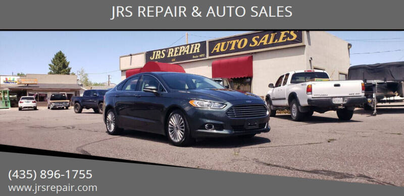 2016 Ford Fusion for sale at JRS REPAIR & AUTO SALES in Richfield UT
