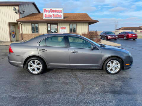2012 Ford Fusion for sale at Pro Source Auto Sales in Otterbein IN