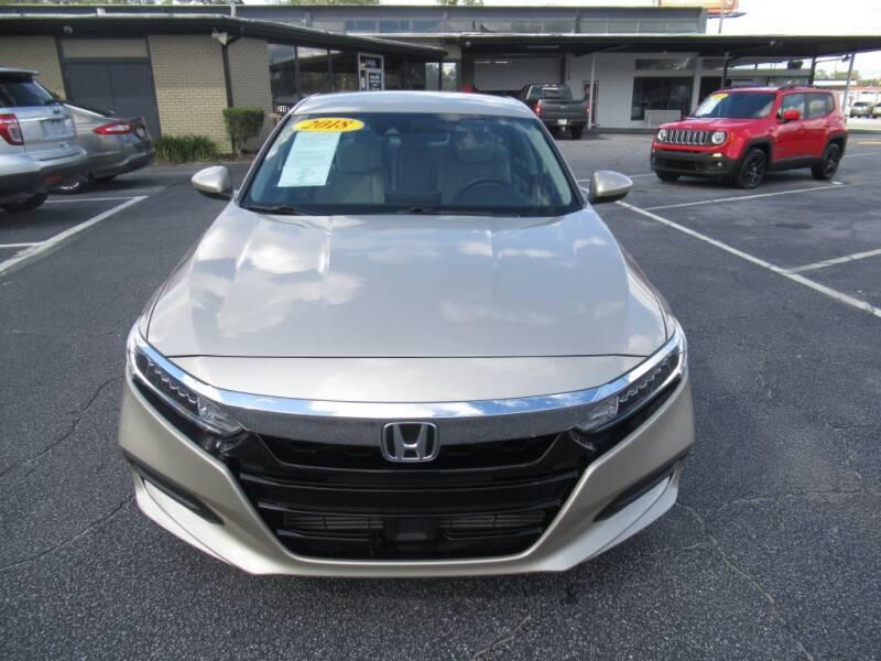 2018 Honda Accord for sale at Maluda Auto Sales in Valdosta GA