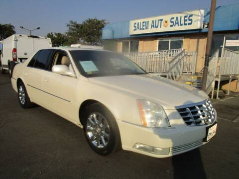 2009 Cadillac DTS for sale at Salem Auto Sales in Sacramento CA