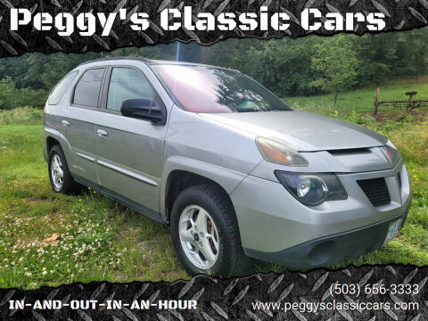 2004 Pontiac Aztek for sale at Peggy's Classic Cars in Oregon City OR