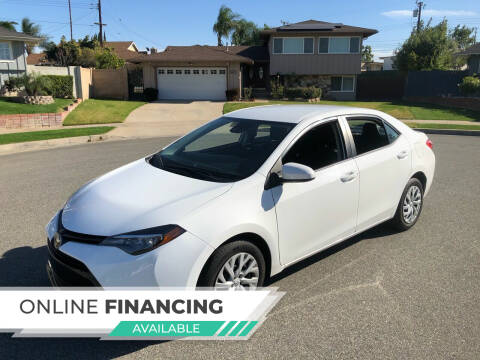 2019 Toyota Corolla for sale at Carmelo Auto Sales Inc in Orange CA