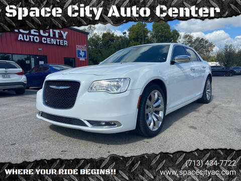 2018 Chrysler 300 for sale at Space City Auto Center in Houston TX