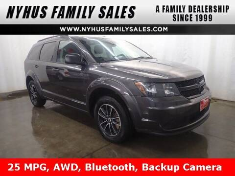 2018 Dodge Journey for sale at Nyhus Family Sales in Perham MN