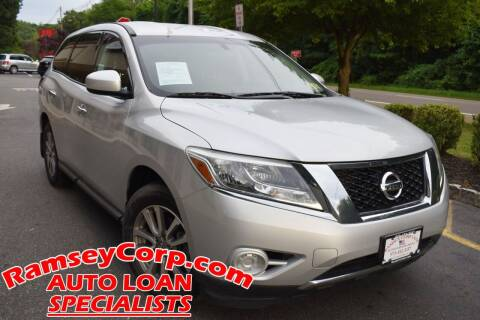 2014 Nissan Pathfinder for sale at Ramsey Corp. in West Milford NJ