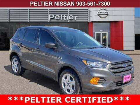 2018 Ford Escape for sale at TEX TYLER Autos Cars Trucks SUV Sales in Tyler TX