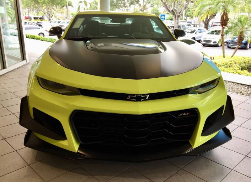 2019 Chevrolet Camaro for sale at Suncoast Sports Cars and Exotics in West Palm Beach FL