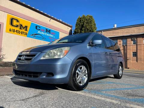 2006 Honda Odyssey for sale at Car Mart Auto Center II, LLC in Allentown PA
