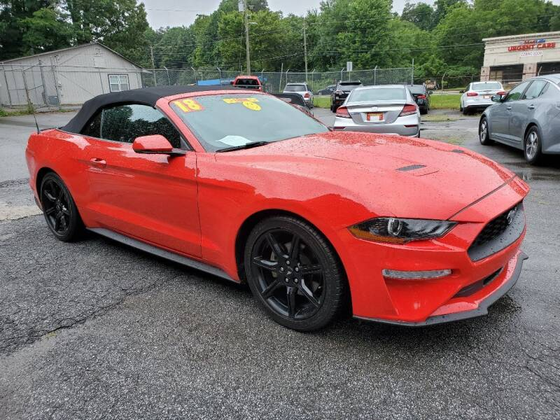 2018 Ford Mustang for sale at Import Plus Auto Sales in Norcross GA