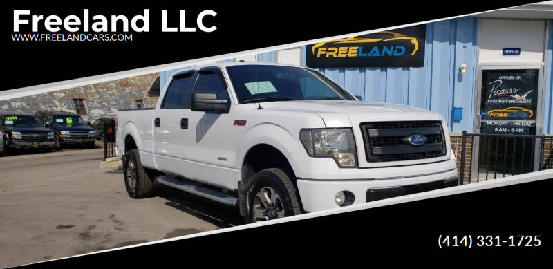 2011 Ford F-150 for sale at Freeland LLC in Waukesha WI