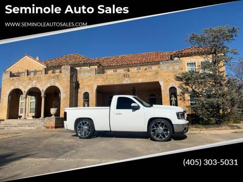 2009 GMC Sierra 1500 for sale at Seminole Auto Sales in Seminole OK