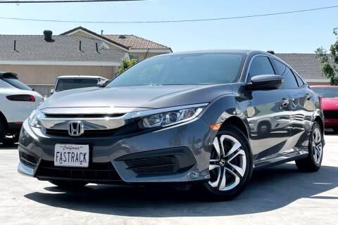 2017 Honda Civic for sale at Fastrack Auto Inc in Rosemead CA