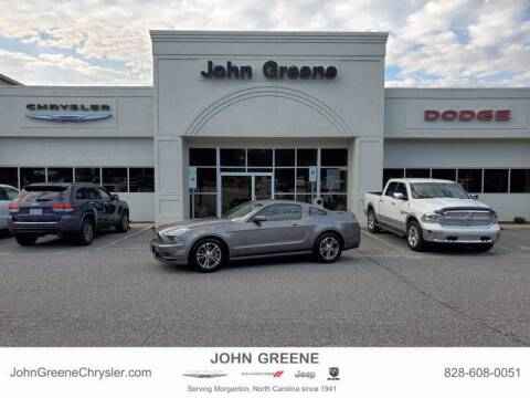 2014 Ford Mustang for sale at John Greene Chrysler Dodge Jeep Ram in Morganton NC