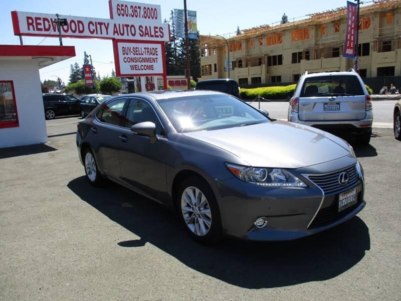 2014 Lexus ES 300h for sale at Redwood City Auto Sales in Redwood City CA