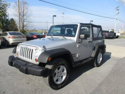 2012 Jeep Wrangler for sale at FINAL DRIVE AUTO SALES INC in Shippensburg PA