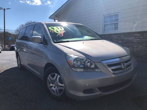 2006 Honda Odyssey for sale at No Full Coverage Auto Sales in Austell GA