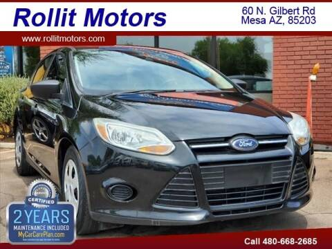 2013 Ford Focus for sale at Rollit Motors in Mesa AZ
