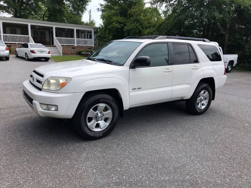 2004 Toyota 4Runner for sale at Dorsey Auto Sales in Anderson SC