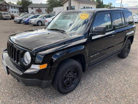2016 Jeep Patriot for sale at CHRISTIAN AUTO SALES in Anoka MN