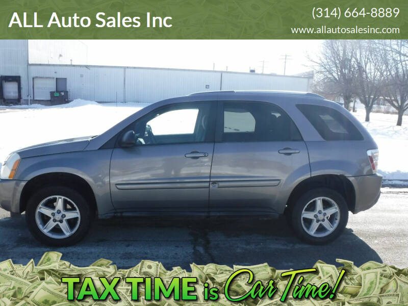 2005 Chevrolet Equinox for sale at ALL Auto Sales Inc in Saint Louis MO