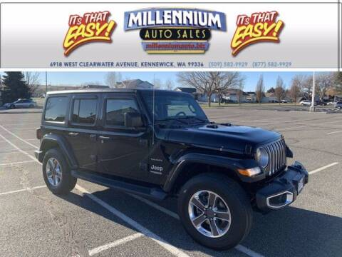 2018 Jeep Wrangler Unlimited for sale at Millennium Auto Sales in Kennewick WA