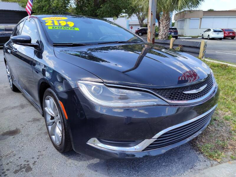 2016 Chrysler 200 for sale at Celebrity Auto Sales in Port Saint Lucie FL